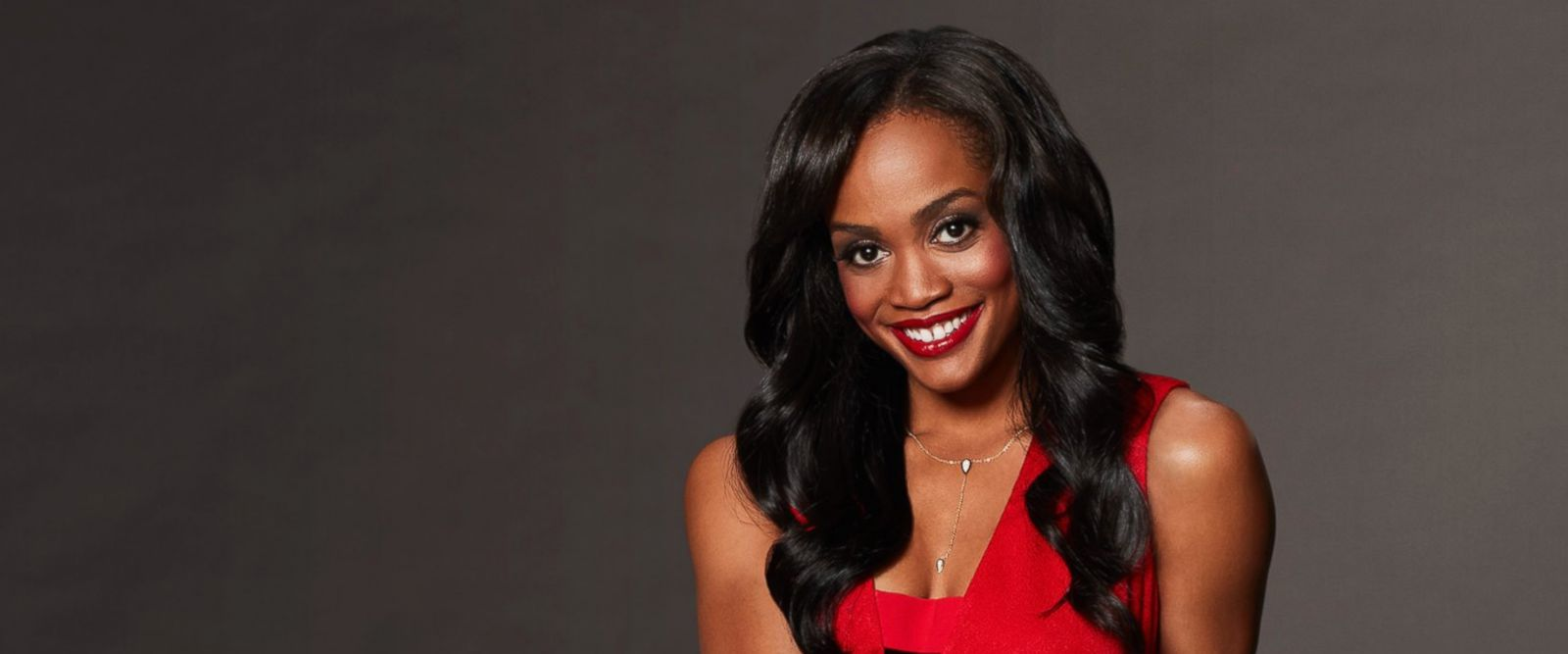 """PHOTO: Rachel Lindsay is pictured in a publicity photo for """"The Bachelorette."""""""