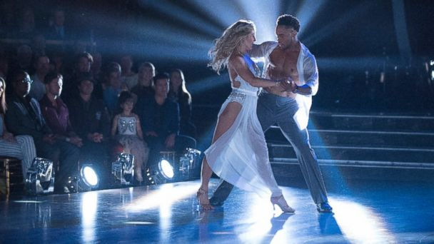 PHOTO: Rashad Jennings and dance partner Emma Slater perform on