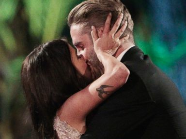 PHOTO: Kaitlyn and Shawn Booth in a scene from the season finale of The Bachelorette.