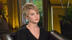 PHOTO: Barbara Walters interviews actress Jennifer Lawrence for her annual special