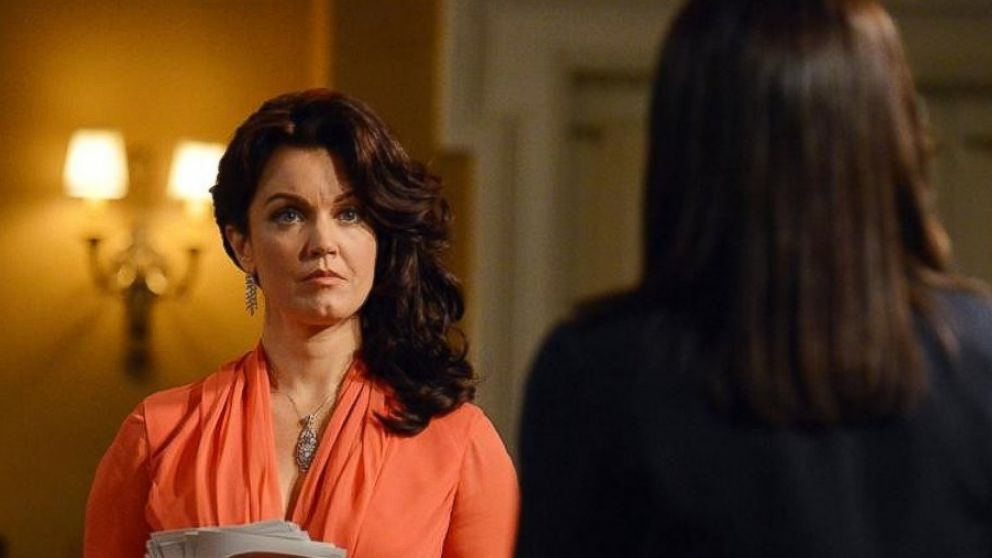 PHOTO: Bellamy Young and the cast of Scandal return tonight for an all new episode.