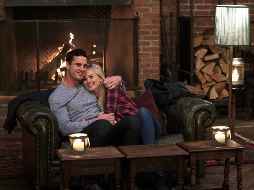PHOTO: Bachelor Ben Higgins and contestant Lauren B. on a date on the Feb 22, 2016 episode.