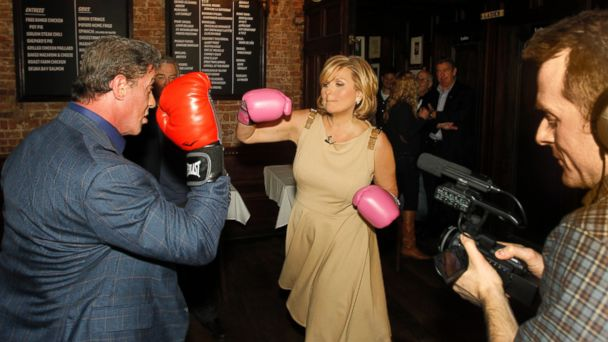 ABC Cynthia Stallone LE 131218 16x9 608 Sylvester Stallone, Robert De Niro Talk About Taking on Grudge Match
