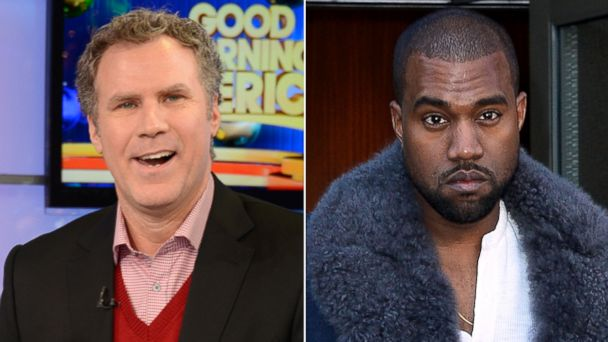 ABC GTY will ferrell kanye west sr 131218 16x9 608 Will Ferrell Sounds Off on Working With Kanye West