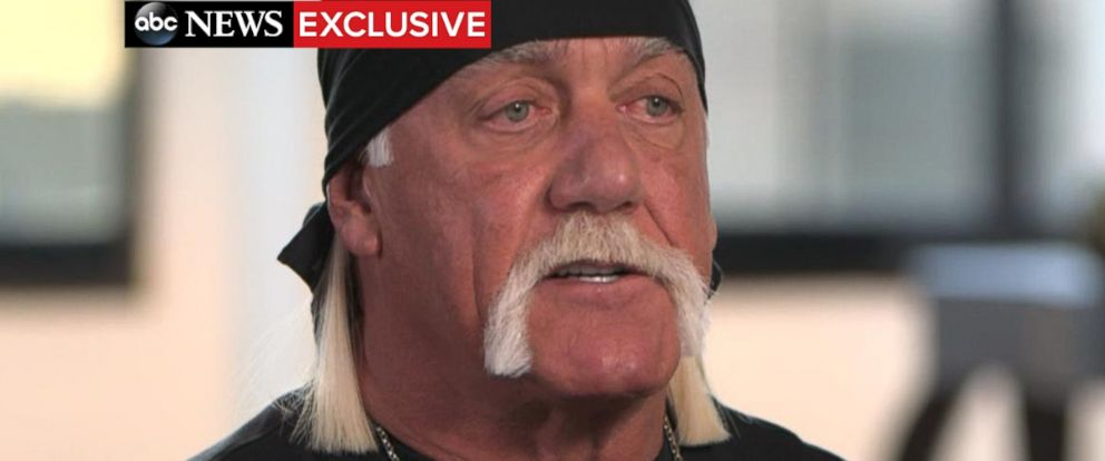 "PHOTO: Hulk Hogan spoke out in an exclusive interview with ABC News Amy Robach that aired August, 31, 2015, on ""Good Morning America."""