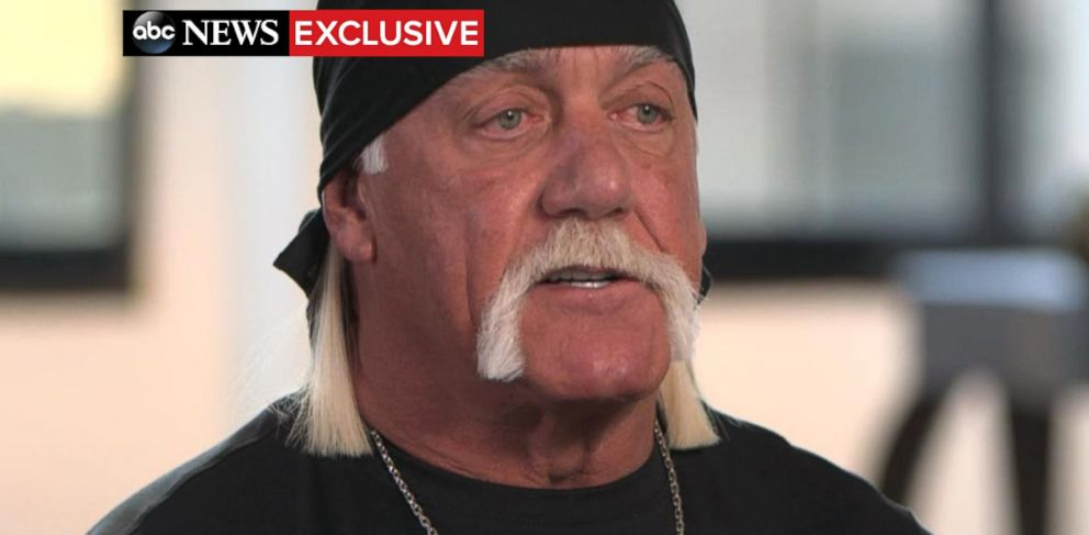 PHOTO: Hulk Hogan spoke out in an exclusive interview with ABC News Amy Robach that aired August, 31, 2015, on Good Morning America.
