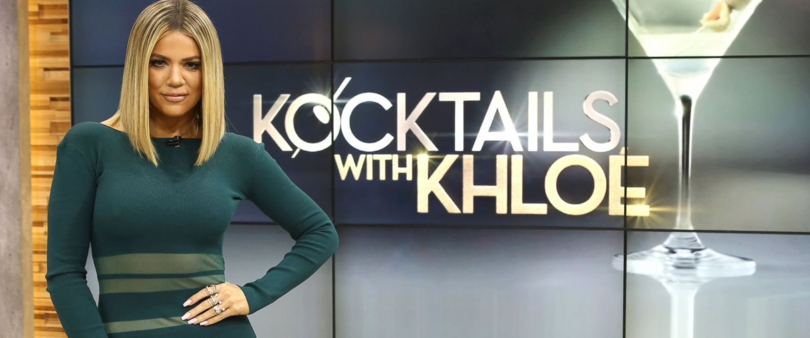 "PHOTO:Khloe Kardashian discussed her new talk show, ""Kocktails WIth Khloe,"" on ""Good Morning America,"" Jan. 13, in New York."