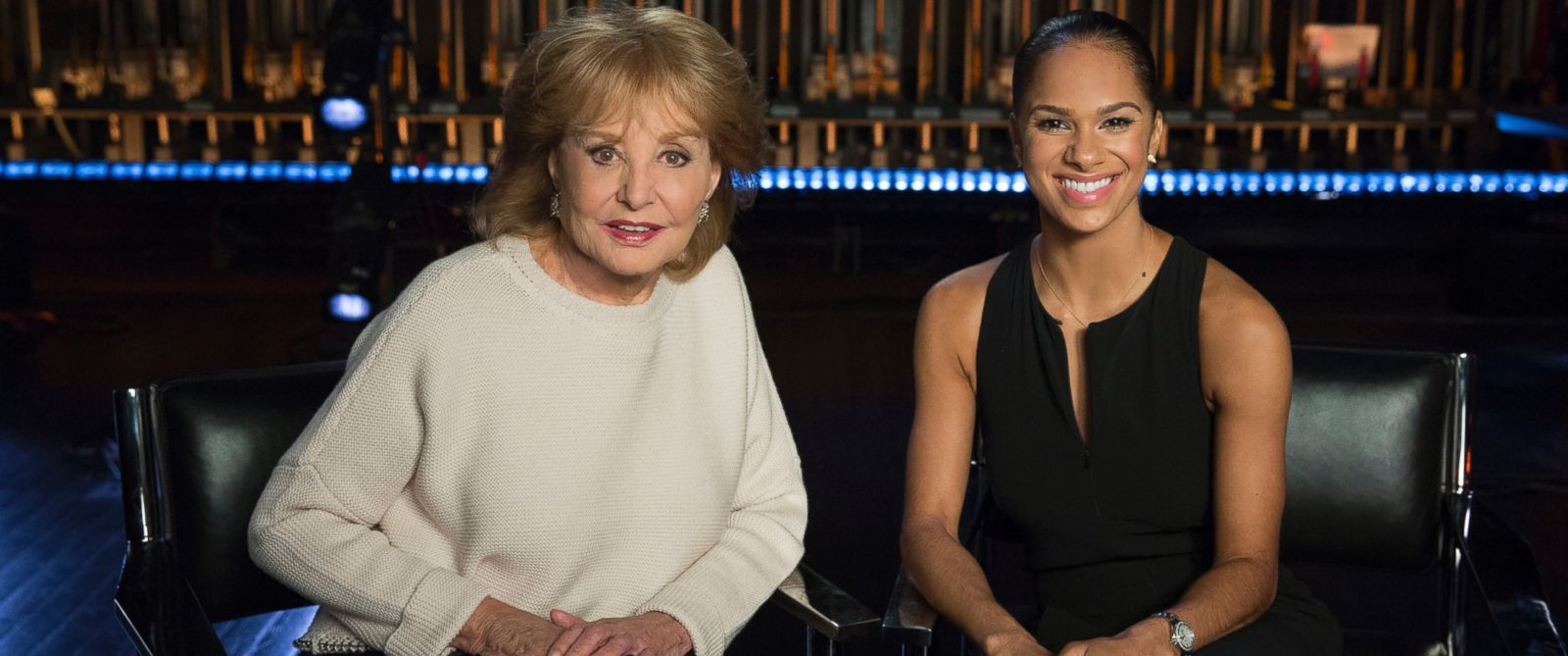 "Barbara Walters interviews Misty Copeland for the ABC News special, ""Barbara Walters Presents: The 10 Most Fascinating People of 2015."""
