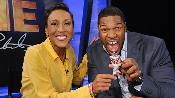 ABC Robin Roberts Michael Strahan1 ml 130923 16x9 608 In the Game with Michael Strahan