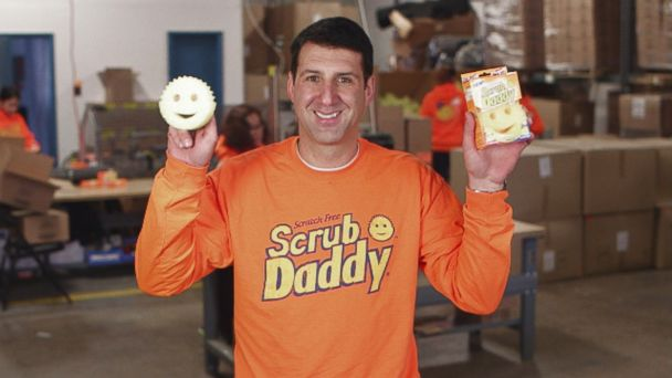 """PHOTO: Aaron Krause pitched his product, Scrub Daddy, on ABC """"Shark Tank."""""""