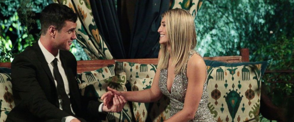 "PHOTO: Ben Higgins meets Olivia on the premiere of the ""The Bachelor,"" Jan .4, 2016."
