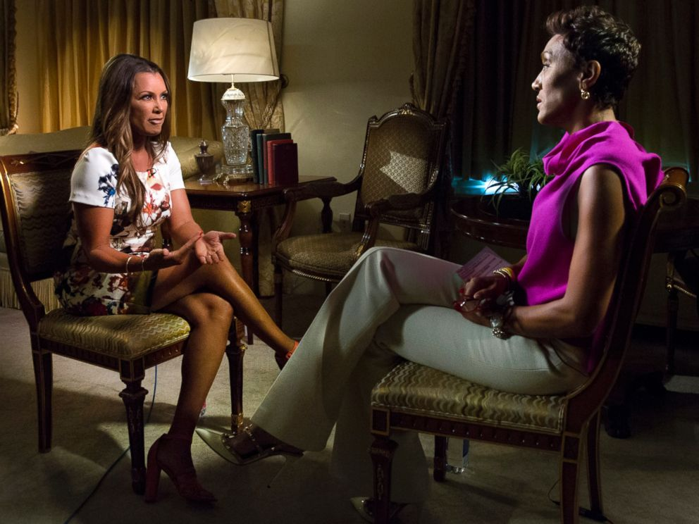 PHOTO: Vanessa Williams, the first African American Miss America who will return to the 2016 pageant as a judge, sat down for an exclusive interview with Robin Roberts for on Good Morning America.