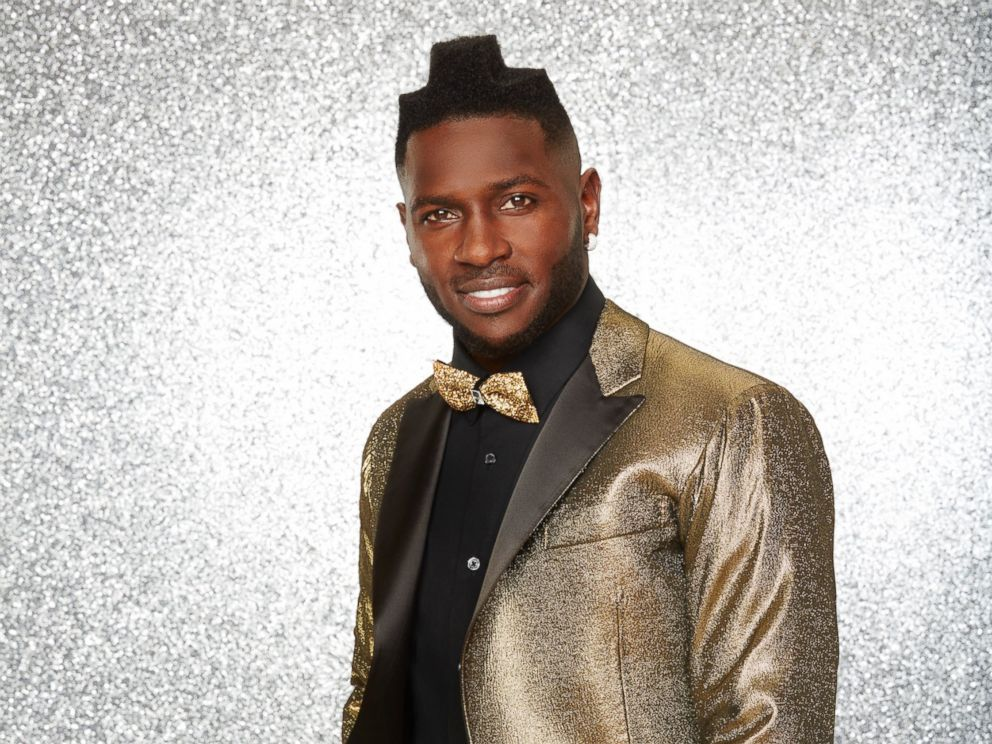 PHOTO: Antonio Brown and the rest of the stars will grace the ballroom floor for the first time on live national television with their professional partners during the two-hour season premiere of Dancing with the Stars, on Monday, March, 21, 2016.