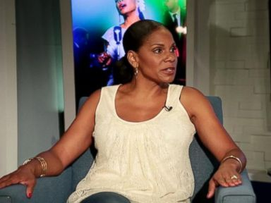 PHOTO: Audra McDonald speaks to Peter Travers on an episode of Popcorn With Peter Travers.