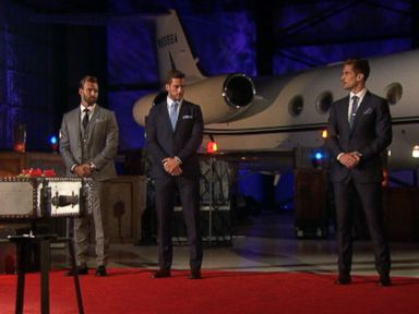 PHOTO: Chase, Robbie and Jordan in The Bachelorette.