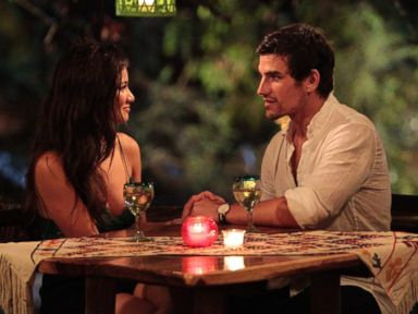 PHOTO: Caila Quinn and Jared Haibon are seen in an episode of Bachelor in Paradise.