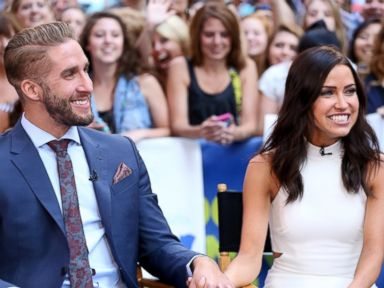 PHOTO: The Bachelorettes Kaitlyn Bristowe and Shawn Booth are guests on Good Morning America.