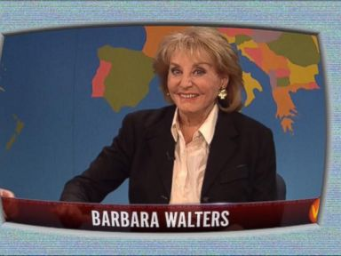 Barbara Walters Defends Herself on 'SNL'