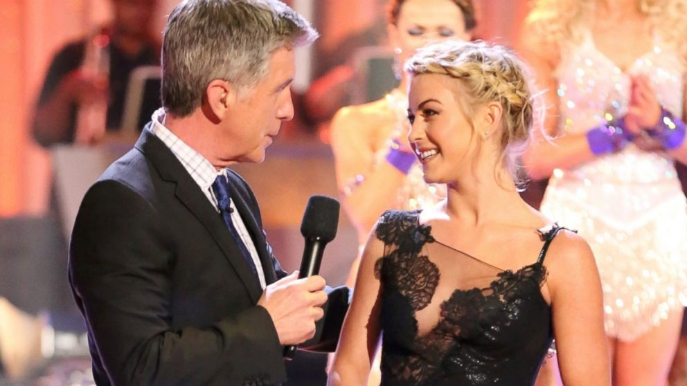 "PHOTO: ""Dancing With the Stars"" host Tom Bergeron and former ""Dancing"" pro Julianne Hough are shown."