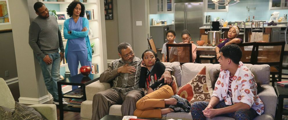 "PHOTO:When the kids ask some tough questions in the midst of a highly publicized court case involving alleged police brutality and an African-American teenager, Dre and Bow are conflicted on how best to field them in the Hope episode of ""Black-ish."""