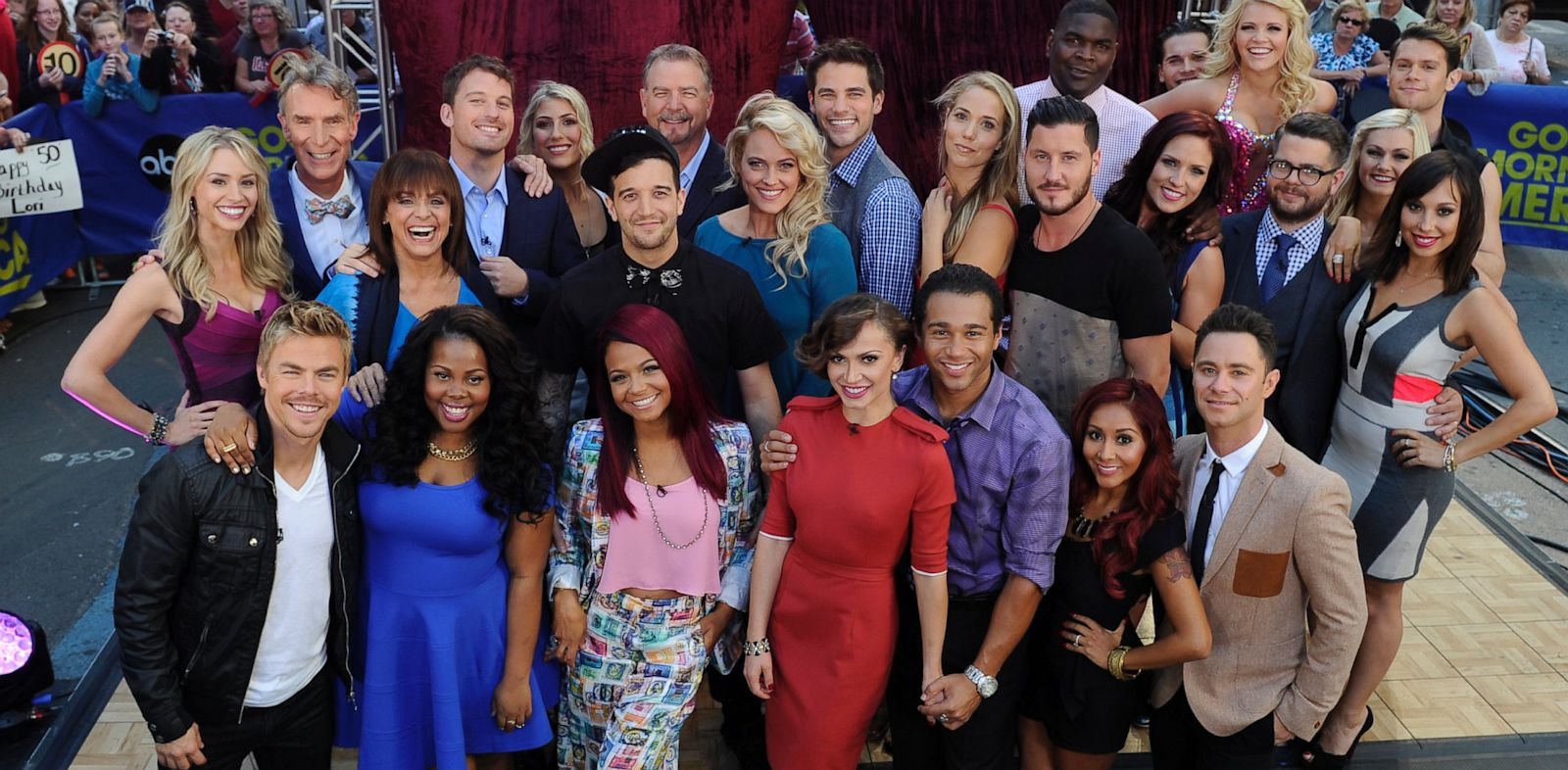 "PHOTO: The cast of Season 17 of ""Dancing With The Stars"""