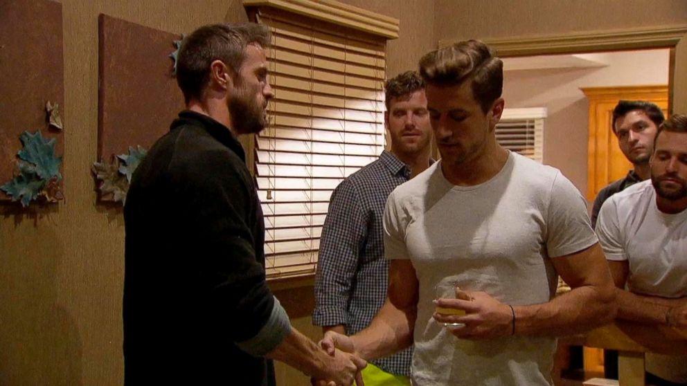 The Bachelorette Sneak Peek Chad And Jordan Face Off