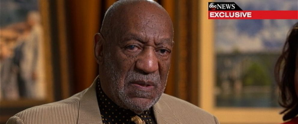 "PHOTO: Bill Cosby speaks to ABC News Linsey Davis for an interview that aired on ""Good Morning America,"" May 15, 2015."
