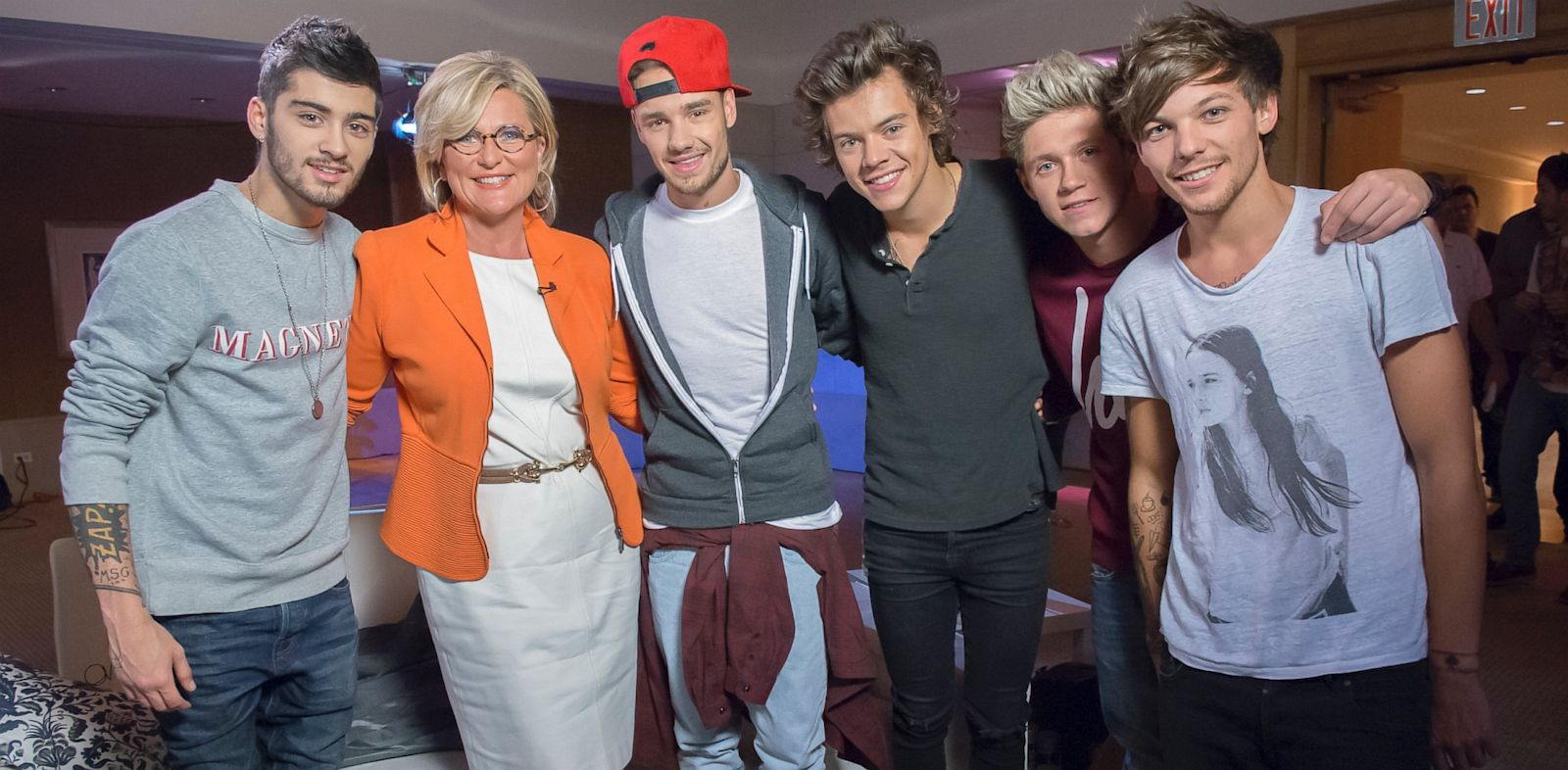 PHOTO: One Direction Talks To Nightline