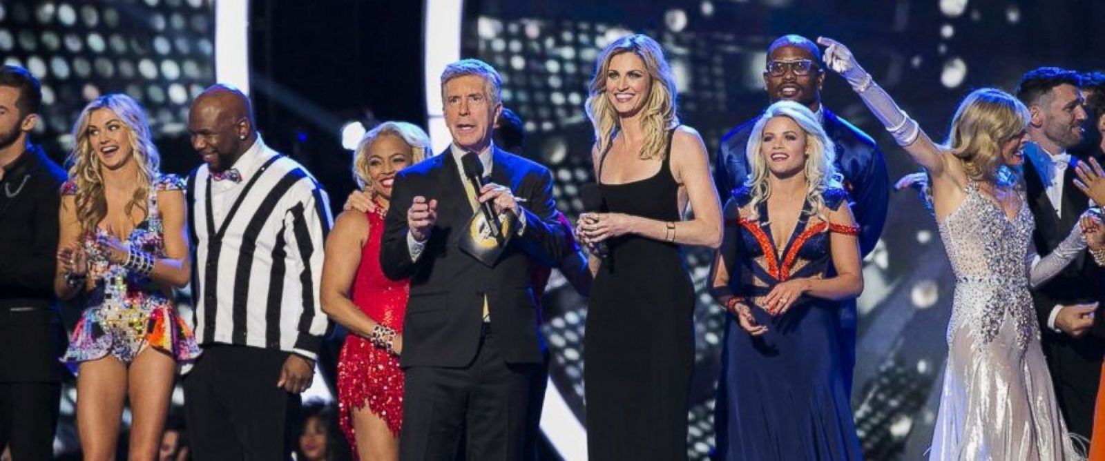 "PHOTO: ""Dancing with the Stars"" is back with an all-new celebrity cast ready to hit the ballroom floor. The competition began with the two-hour season premiere, March 21, 2016."