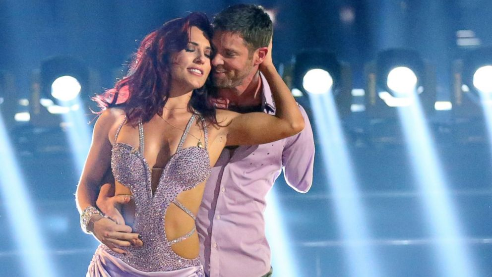 "PHOTO: Sharna Burgess and Noah Galloway perform on ""Dancing with the Stars."""