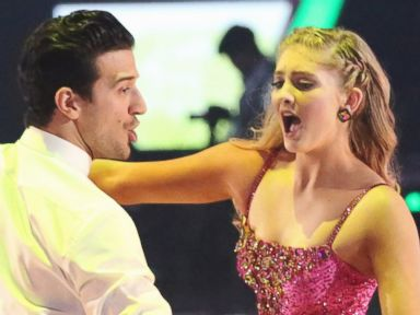 PHOTO: Mark Ballas and Willow Shields perform on Dancing with the Stars.
