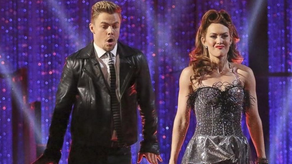 """PHOTO: Derek hough and Amy Purdy perform on """"Dancing WIth the Stars,"""" March 25, 2014."""