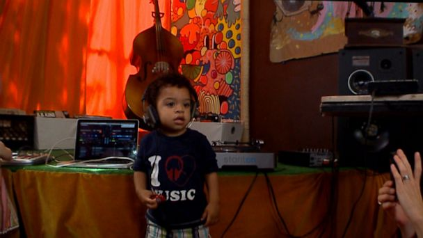 ABC dj classes for kids jt 130915 16x9 608 Toddlers Taking a Spin on the DJ Turntable
