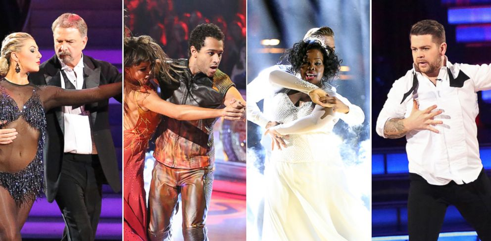 "PHOTO: Bill Engvall , Corbin Bleu, Amber Riley and Jack Osbourne compete on season 17 of ABCs ""Dancing With the Stars."""