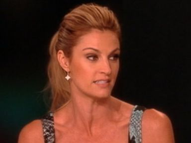 PHOTO: Erin Andrews is pictured on The View on March 14, 2014.