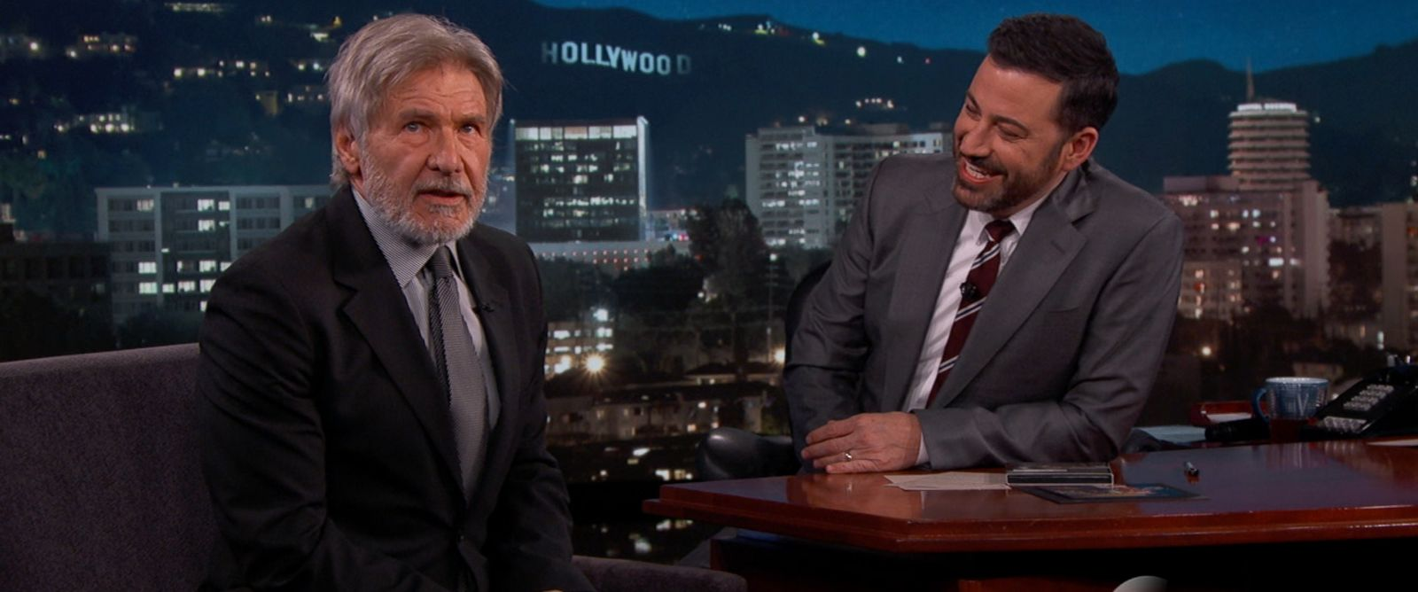 photo harrison ford appears on jimmy kimmel live march 21 2016. Cars Review. Best American Auto & Cars Review