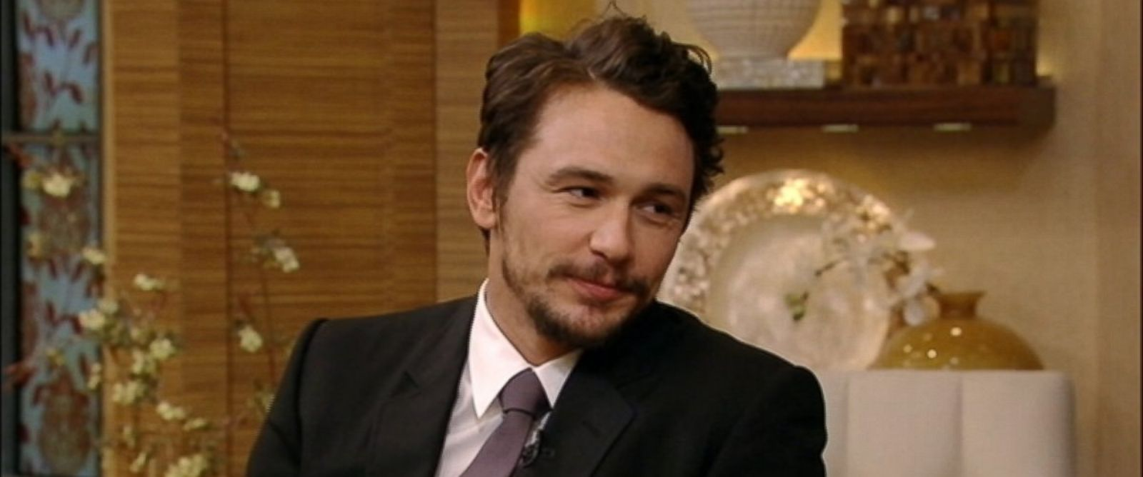 "PHOTO: James Franco is a guest on ""Live! with Kelly and Michael,"" April 4, 2014."