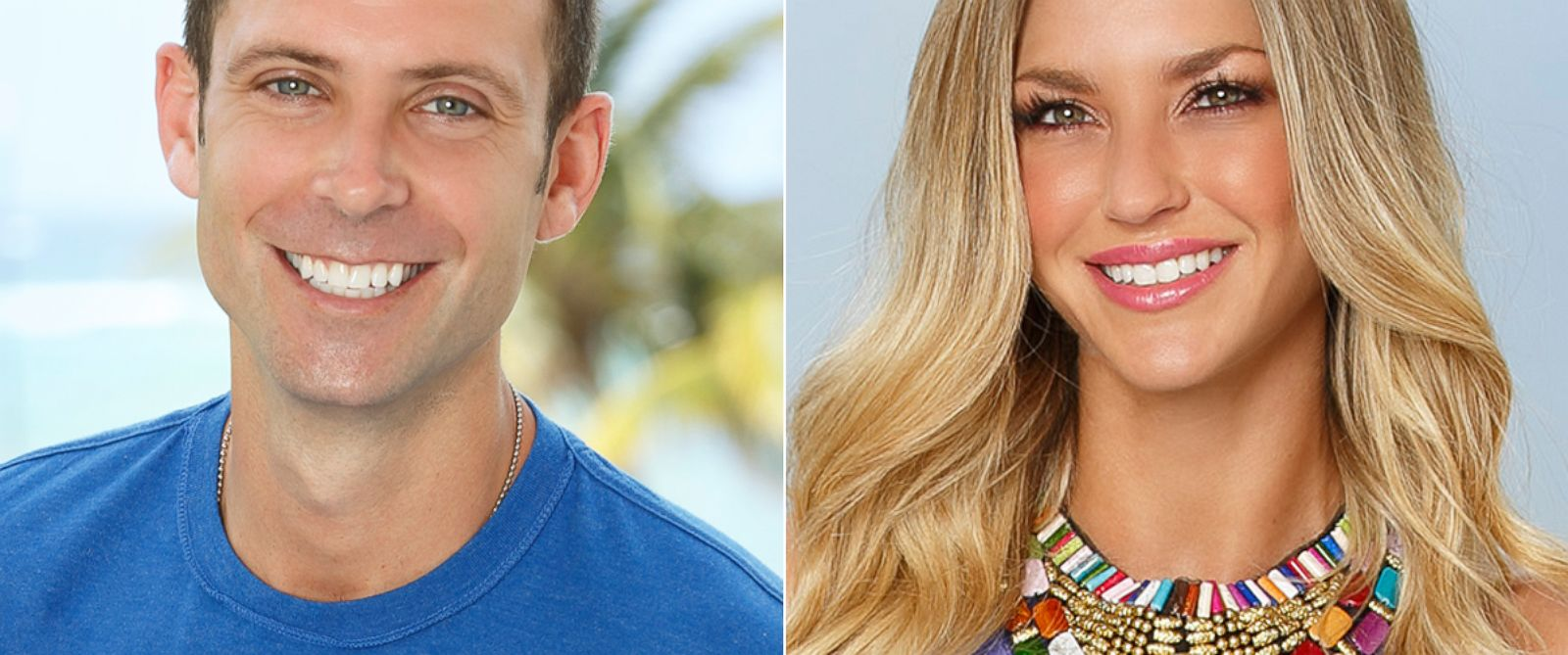 "PHOTO: Graham Bunn and AshLee Frazier from ""Bachelor in Paradise."""