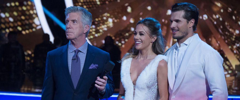 """PHOTO: Tom Bergeron, Jana Kramer and Gleb Savchenko in """"Dancing With the Stars."""""""