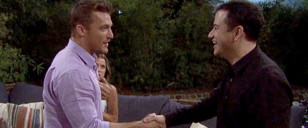 PHOTO Jimmy Kimmel Crashes Chris Soules Date On The Bachelor