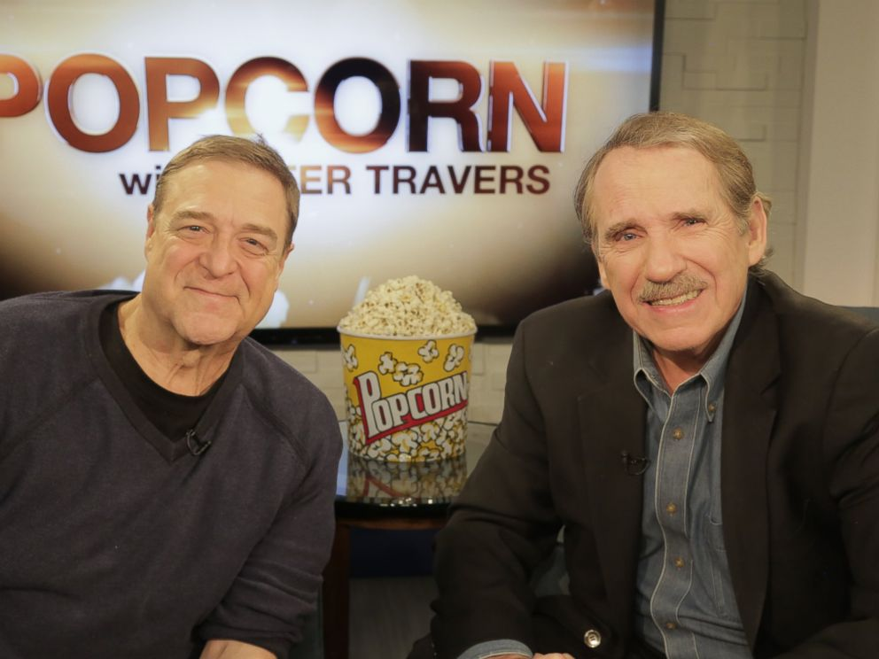 Photo John Goodman Speaks With Peter Travers At The Abc News Headquarters In New York