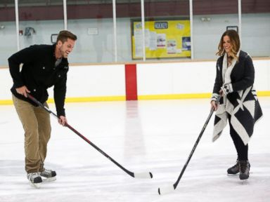 PHOTO: Chase and JoJo from The Bachelorette.