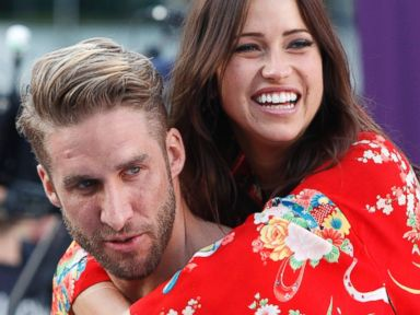 PHOTO: Shawn Booth and Kaitlin Bristowe are seen on an episode of The Bachelorette.