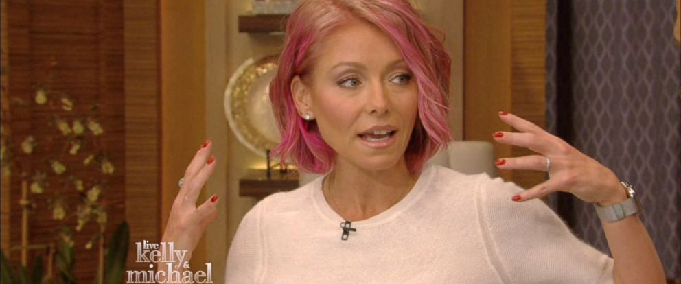 "PHOTO: Kelly Ripa is seen on Live with Kelly and Michael,"" June 10, 2015."
