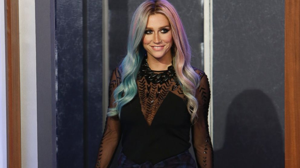 PHOTO: Ke$ha appears on Jimmy Kimmel Live, Oct. 14, 2013.
