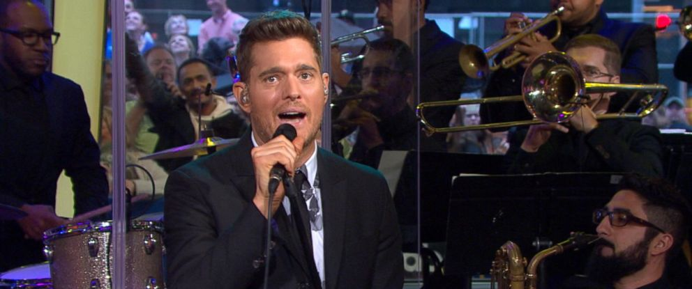 """PHOTO: Michael Buble discusses his new album, """"Nobody But Me,"""" on """"Good Morning America."""""""