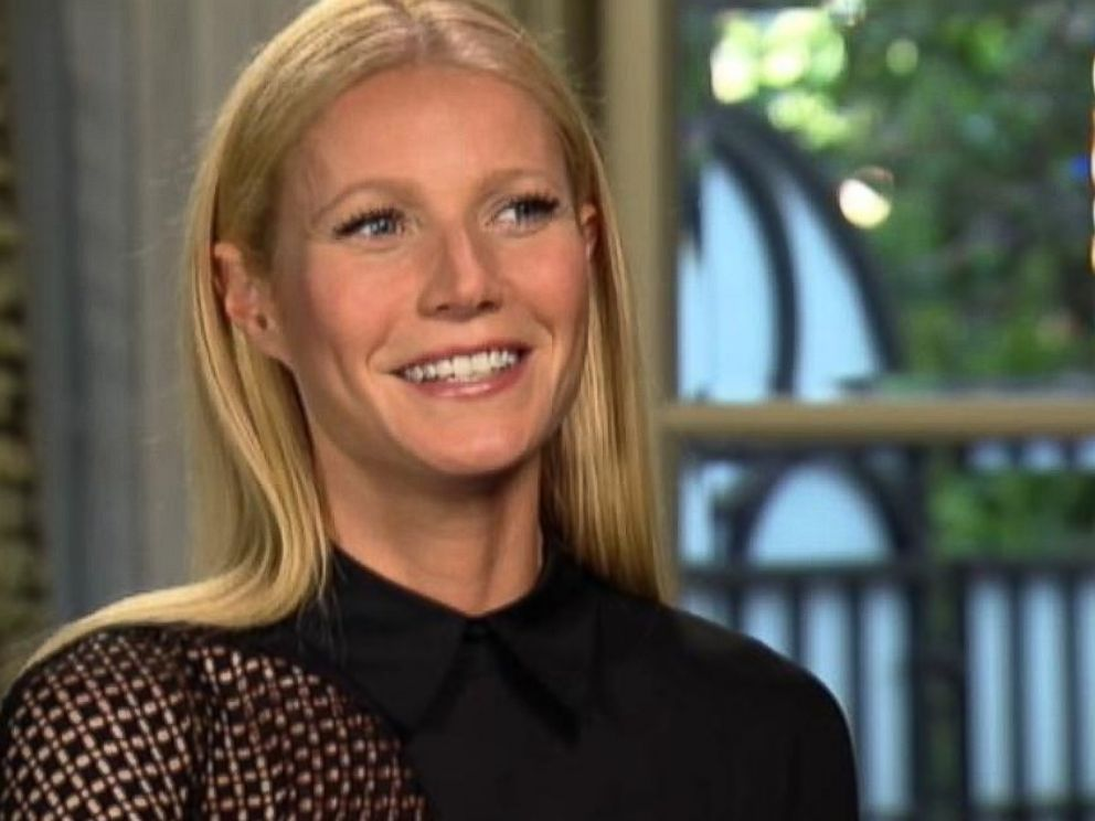 PHOTO: Gwyneth Paltrow is interviewed on Good Morning America from Sept. 2013.