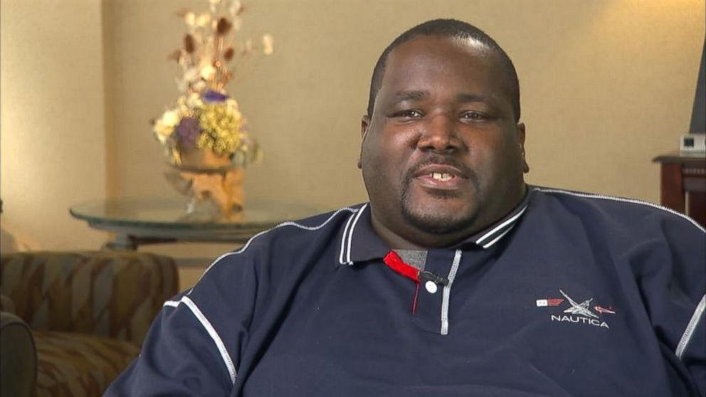 PHOTO: Quinton Aaron plans to lose weight after being kicked off a US Airways flight for taking up too much room.