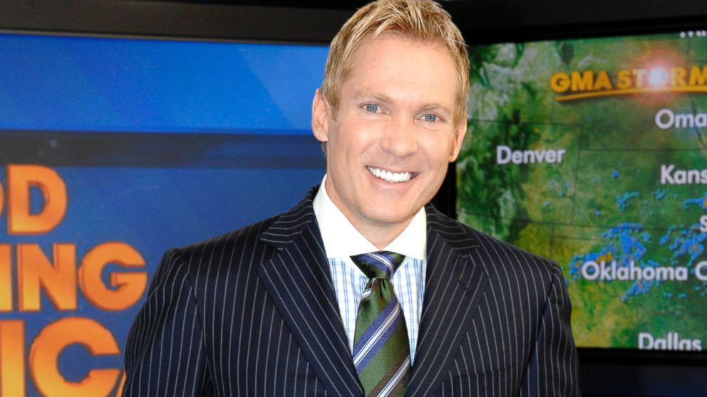 "PHOTO: Sam Champion on ""Good Morning America."""