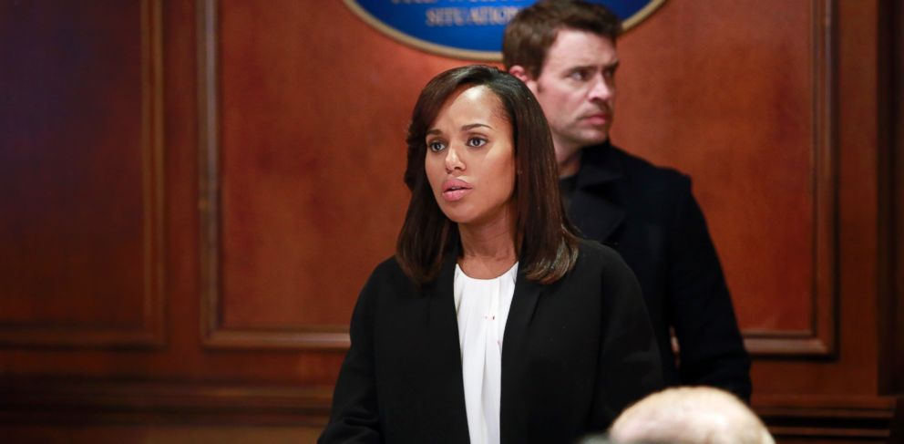 PHOTO: Kerry Washington in a scene from Scandal.